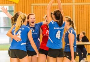 USV Potsdam I gegen MVC I @ Humboldt Gymnasium | Potsdam | Brandenburg | Deutschland