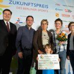 Zukunftspreis Berlin im Sport 2017 - 5. Platz